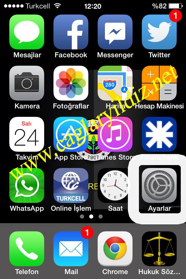 iPhone4 iOS7 Donma Sorununa Kesin Çözüm